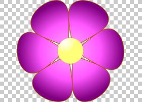 粉红色花卡通,线路,洋红色,紫罗兰,圆,传粉者,紫色,丁香,对称性,