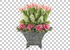 粉红色花卡通,花瓶,粉红色家庭,插花,一年生植物,花盆,室内植物,