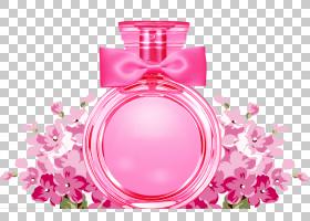 粉红色花卡通,洋红色,化妆品,健康美容,花瓣,花,模板,广告,粉红色