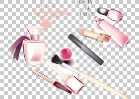 化妆卡通,手指,化妆品,嘴唇,钉子,健康美容,粉红色,美,弗拉斯科,