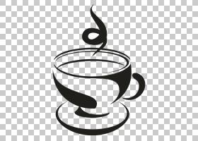绿茶,黑白,饮具,服务软件,咖啡杯,餐具,线路,杯子,佛手柑,茶壶,化
