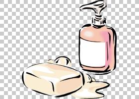 浴室卡通,浴室附件,化妆品,香水,健康美容,美,洗发水,洗碗液,洗手