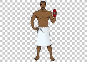 曼卡通,腹部,干线,Pradal Serey,手指,手臂,手,拳击手套,卡通,肌