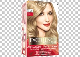 头发卡通,假发,长发,棕色头发,美,头发永久性矫直器,香水,洗发水,
