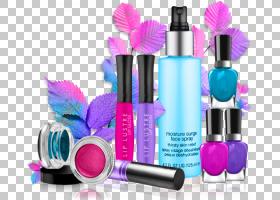 头发卡通,紫罗兰,紫色,时尚,钉子,香水,美容学,理发师,头发护理,
