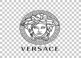 Gucci徽标,符号,绘图,圆,面积,线路,头部,线条艺术,文本,黑白,白