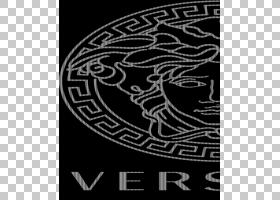 Gucci徽标,视觉艺术,徽标,圆,面积,线路,线条艺术,头部,文本,黑白