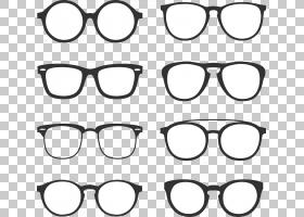 眼镜背景,黑白,圆,线路,汽车零件,眼镜,雷班,玻璃,护目镜,角质眼