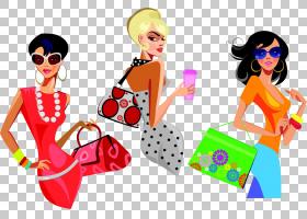 女卡通,眼镜,太阳镜,眼镜,时装设计,服装,模型,女人,手提包,时尚,