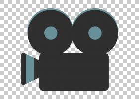 电影表情,圆,符号,动画,Noto字体,电影,照相机,电影摄影机,YouTub