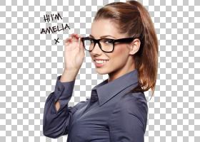 商务女性,白领工人,下巴,棕色头发,双焦,女人,塑料,眼镜,镜头,护