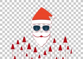圣诞圣诞老人,微笑,红色,派对帽,面积,箭头,创造力,圣诞节,圣诞老