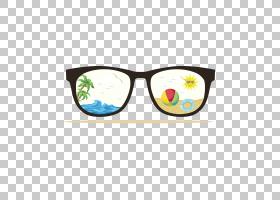 圣诞节和新年背景,眼镜,线路,护目镜,黄色,眼镜,太阳镜,年卡,想法