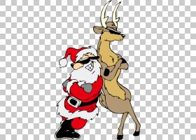 圣诞节黑白,卡通,黑白,鹿,圣诞装饰,YouTube,礼物,圣诞老人,精灵,
