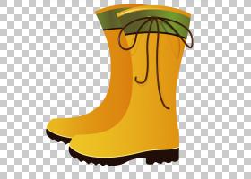 黄色背景,鞋类,户外鞋,黄色,启动,鞋,