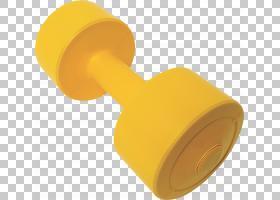 黄色背景,黄色,运动员,哑铃,奥运举重,体育锻炼,体质,体育器材,体