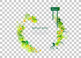 边框设计花,花卉设计,边界,线路,点,绿色,黄色,树,文本,正方形,叶