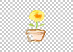 黄花植物蛋黄,蛋黄,植物,花,黄色,水彩花,