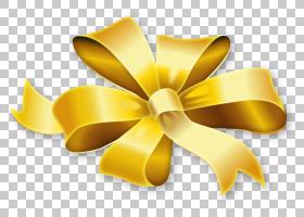 黄金丝带,花瓣,花,黄色,圣诞节,鞋带结,圣诞金色,圣诞礼物,黄金,