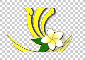 花卉剪贴画背景,线路,植物茎,切花,花,黄色,符号,花瓣,面积,叶,植