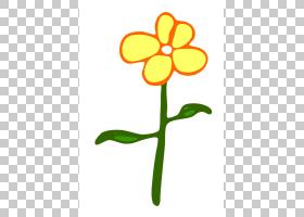 花卉剪贴画背景,线路,植物茎,切花,黄色,叶,植物群,植物,花瓣,绘