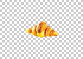 水彩背景,贝壳,橙色,蛋糕,甜点,食物,水彩画,面包,早餐,牛角面包,