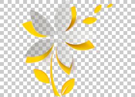花圈,圆,角度,植物,对称性,线路,叶,黄色,CDR,三维空间,剪纸,花,