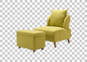 沙发卡通,舒适,硬木,户外沙发,角度,卧椅,卧室,黄色,相思虫,Faute