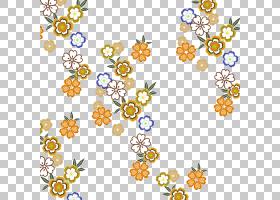 水彩花卉背景,线路,花瓣,黄色,圆,点,面积,对称性,植物群,卡通,花