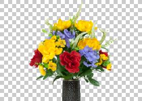 粉红色花卉背景,草本植物,一年生植物,插花,花盆,植物,绣球花,蓝