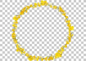 花环,雷磊,身体首饰,首饰,项链,黄色,花环,花,