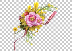 粉红色花卡通,人造花,花瓣,植物群,花束,植物,花卉,粉红色,插花,