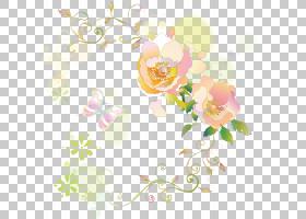 粉红色花卡通,玫瑰,传粉者,视觉艺术,贺卡,植物,玫瑰秩序,分支,开