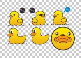 海报背景,鸭鹅和天鹅,鸟,喙,鸭子,文本,面积,水鸟,笑脸,表情,可爱