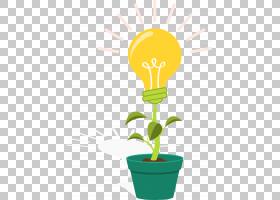 花线艺术,树,线路,花盆,叶,植物,花,黄色,绿色,娱乐,企业形象,徽