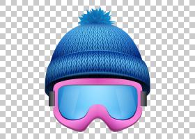 雪背景,电蓝,头盔,个人防护装备,棒球帽,眼镜,滑雪头盔,蓝色,体育图片