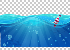 风卡通,线路,天蓝色,青色,水,波浪,水,绿松石,漫画,颜色,蓝色,天