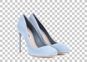 宫廷鞋蓝,鞋类,高跟鞋,基本泵,电蓝,克里斯蒂安・鲁布托,运动鞋,