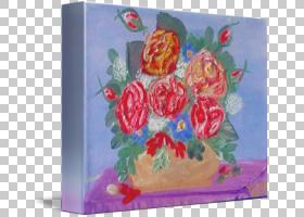 水彩花卉背景,花卉,水彩画,插花,绘画,红色,丙烯酸树脂,花,花瓣,