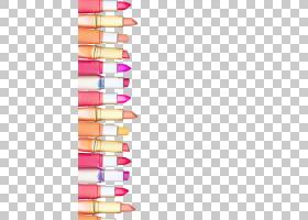 铅笔剪贴画,线路,铅笔,粉红色,香水,颜色,眼影,美宝莲,纳尔斯化妆