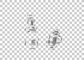 银色背景,黑白,白银,白色,矩形,玻璃瓶,香水,线路,身体首饰,正方