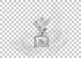 黑白花,黑白,白银,晶体,静物摄影,液体,时尚,精油,香水师,花卉设