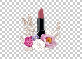 花卡通,花瓣,花,洋红色,奶油,蜡,西斯利巴黎保湿长效唇膏,香水,油