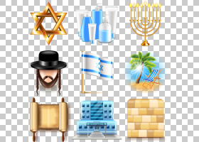 犹太人,线路,黄色,光明节,犹太人,符号,大卫之星,犹太教,