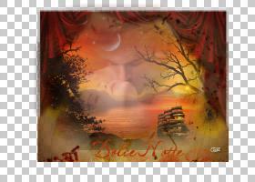 现代背景框架,橙色,现代艺术,热量,天空,相框,绘画,香水,广告,徽