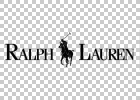 拉尔夫・劳伦标志,剪影,线路,黑白,文本,黑色,拉尔夫・劳伦,服装,