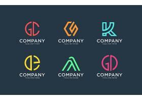 商务通用简洁形象主题LOGO图标徽章设计