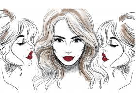 时尚女性插画