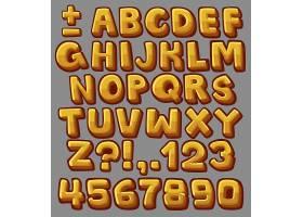 英文字母与数字背景设计