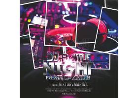DJ派对炫酷主题海报设计